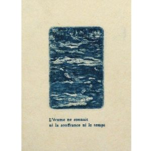Gravure et typo de Louise Gros