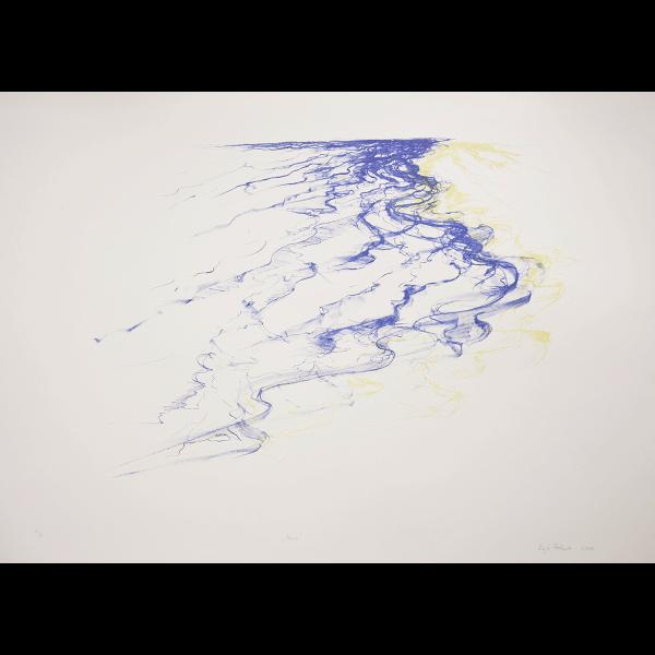 Lithographie en couleur de Edyta Pietrzak